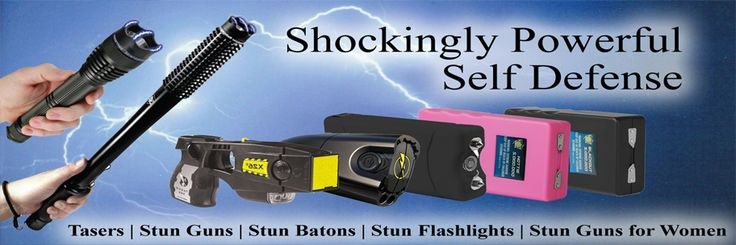 Get shockingly powerful Stun Gun for women.