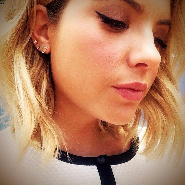Ashley Benson's eyeliner is so gorgeous.