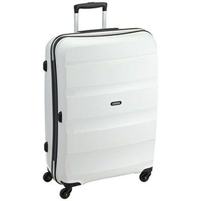 Chollo en la maleta Bon Air Spinner de American Tourister  ¡CHOLLO! Maleta American Tourister rígida por 78,38€, precio mínimo histórico. Con capacidad de 83l, cierre TSA y cuatro ruedas direccionables.¡Magnífica!