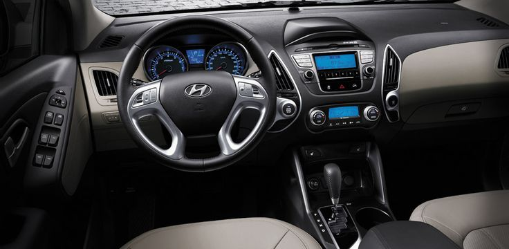 #Hyundai #Tucson | Your interior – for you and you alone. When we say you're in control, we mean you're in control. Set the monitor to provide info the way you want it, play music the way you choose and widen your options with Bluetooth. #HyundaiTucson #HyundaiQatar