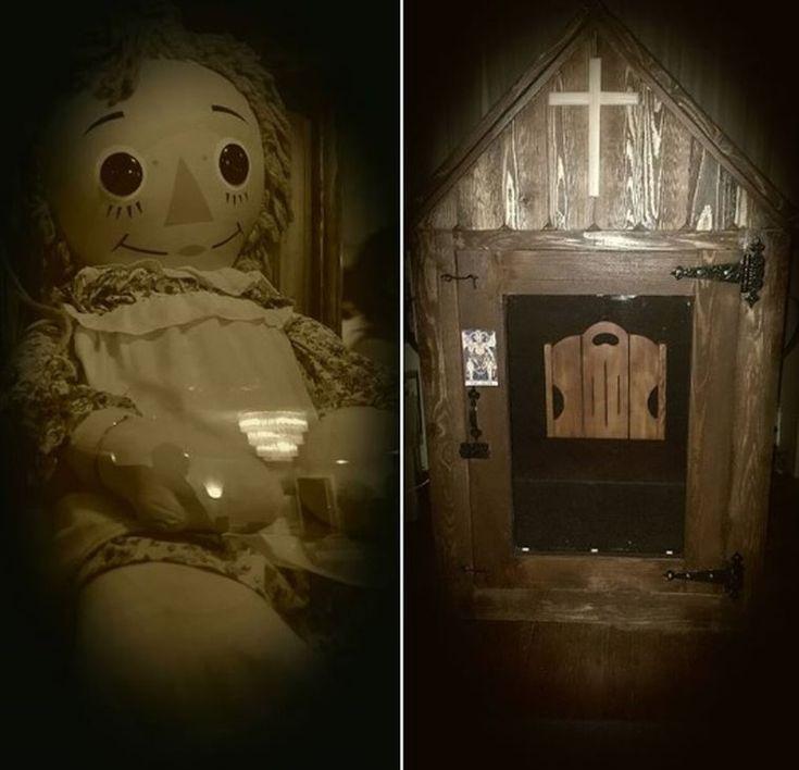 Annabelle Doll Museum On Pinterest Annabelle Museum