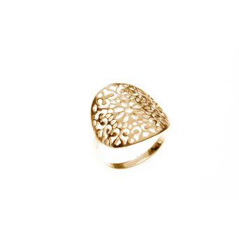 Bague femme plaquée or - Bague de créateur - L'Atelier d'Amaya - L'Atelier d'Amaya