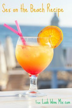 Sex on the Beach Recipe. Simple and delicious