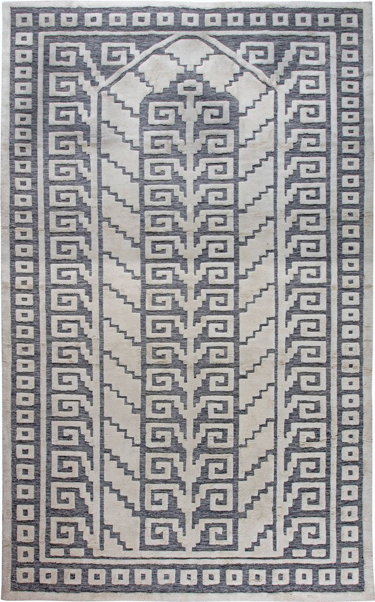 Swedish Half Pile Rug N11337 By Doris Leslie Blau