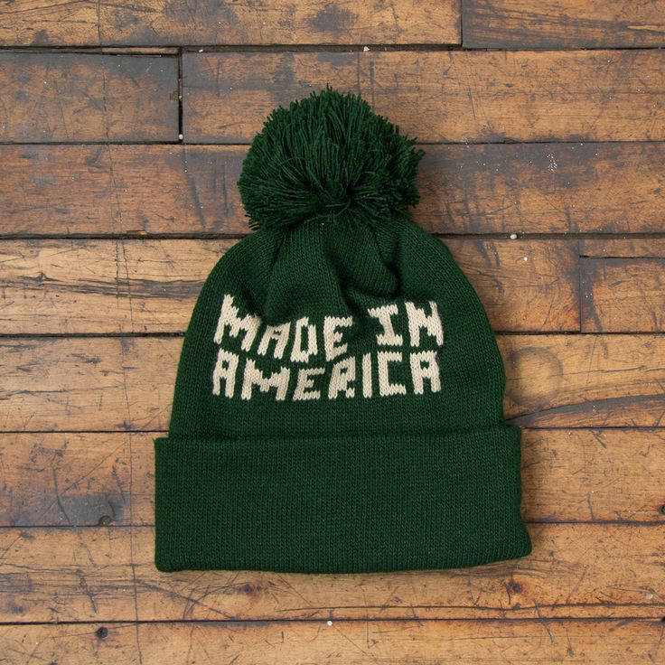 Knit Hat (MADE IN AMERICA)