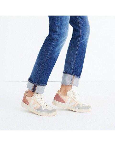 c04db4c3ee7261 Veja™ V-10 Sneakers in Colorblock in nude multi image 2
