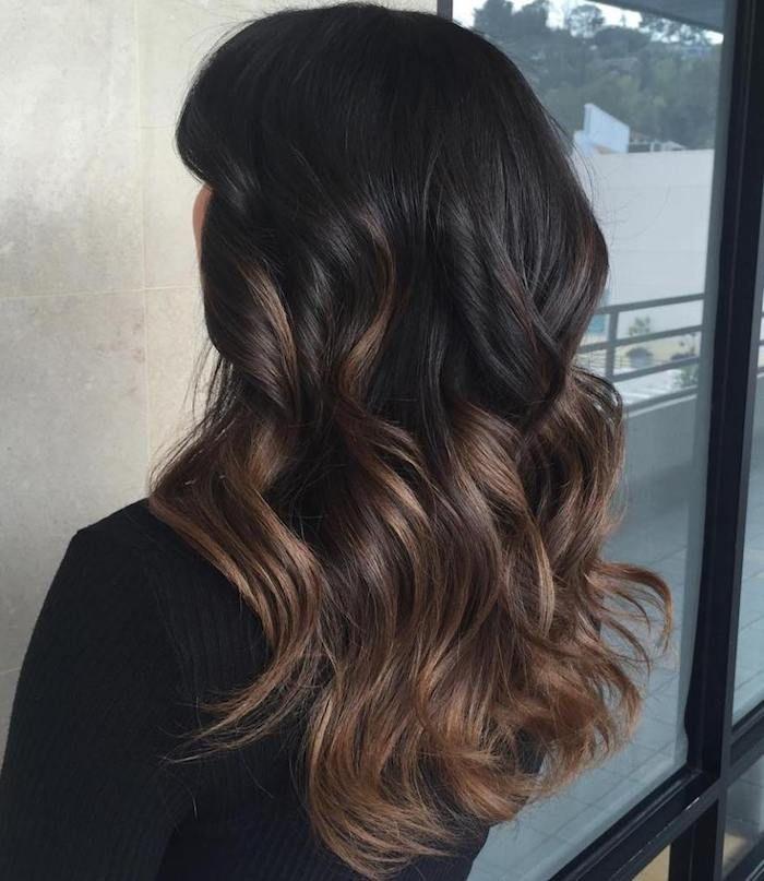 Braune haare selber farben