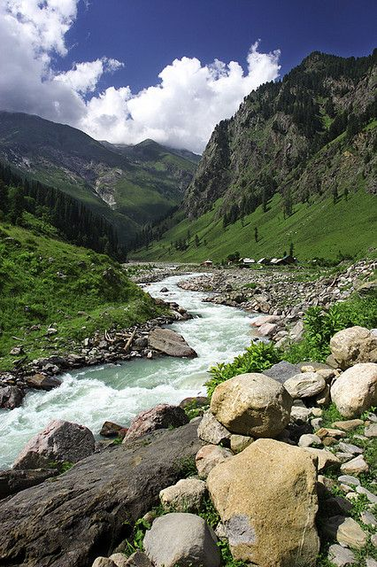 Perhaps the best place to spend your Honeymoon isin the mountains of Kashmir, India