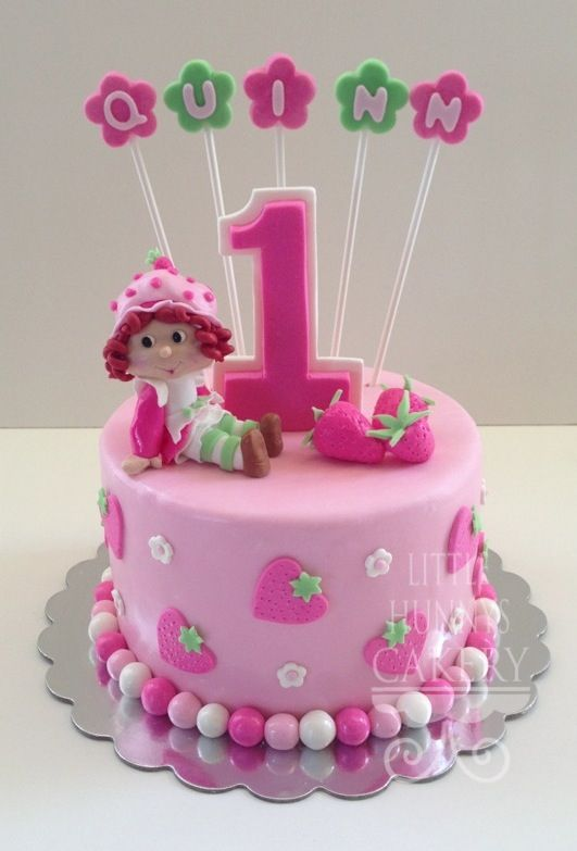 Strawberry Shortcake Birthday Cake Ideas