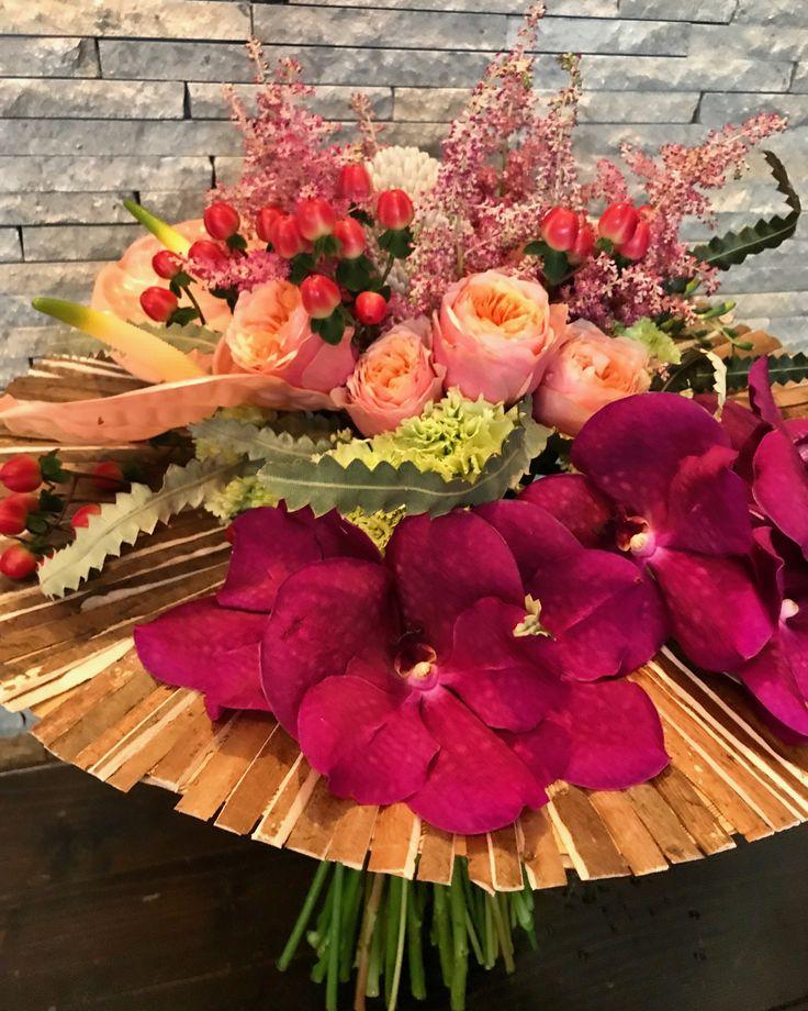 #nadiacomaneci #soniaiovan #europeangymnasticschampionship2017 #clujnapoca #romania #EChCluj2017 #flowers #bouquet by #atelierfloristicaleksandra
