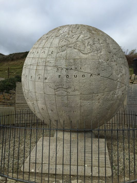 The Great Globe, Durlston Country Park, Dorset