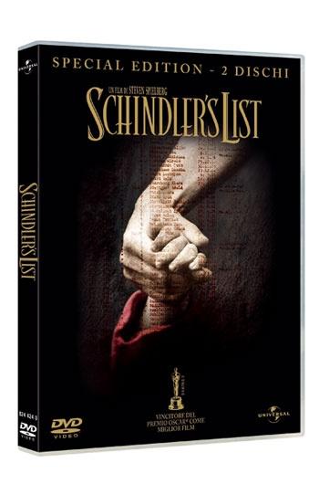 Schindler's List, il capolavoro di Steven Spielberg del 1993 sull'Olocausto e la vera storia di Oskar Schindler, con Liam Neeson, Ben Kingsley e Ralph Fiennes, vincitore di sette premi Oscar tra cui miglior film