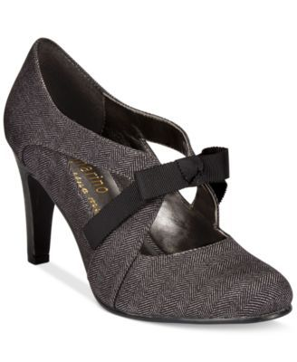Ann Marino by Bettye Muller Telma Bow Pumps | macys.com