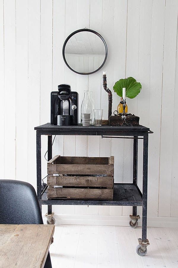 Coffee cart in my office for the home pinterest for Coffee carts for office