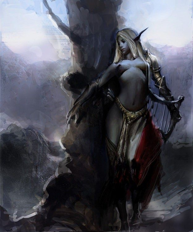 Lista Elfos Oscuros De Mantic Elf Art Dark Elf Dark Fantasy Art