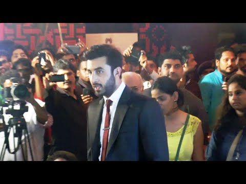 Ranbir Kapoor at the red carpet of 16th Mumbai Film Festival 2014.