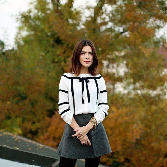 Stilini severek takip ettiğimiz bloggerlardan @maritsanbul #BoynerFresh bluzu ile çok şık! #boyner #moda #fashion #ootd #maritsanbul#blogger