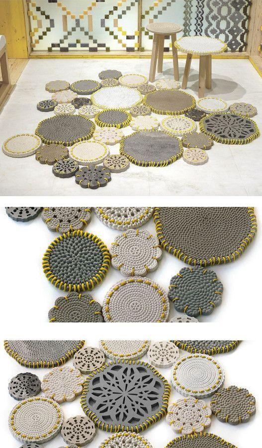 #marble #rug CARPET by Budri | #design Patricia Urquiola