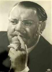 Heinrich George (* 9. Oktober 1893 in Stettin; † 25. September 1946 im Speziallager Nr. 7 Sachsenhausen; bürgerlich Georg August Friedrich Hermann Schulz)