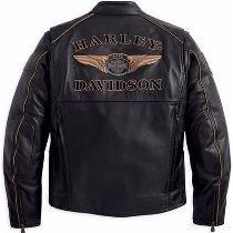 Jaqueta De Couro Harley Davidson - Genuina - Pronta Entrega!