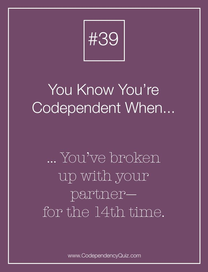 How Do You Know If You Re Codependent