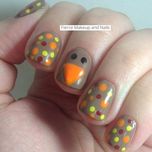 Best Thanksgiving Nails - 51 Trending Thanksgiving Nail Designs - Best Nail Art