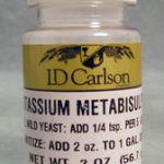 Using Potassium Metabisulfite to Make Wine