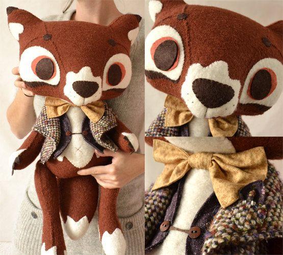 Mr and Mrs Fox for Angela от MarieChou на Etsy