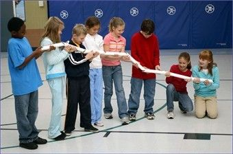 Don't Lose your Marbles!! Teamwork and communication are necessary in the fast-paced Don't Lose Your Marbles Team Building Challenge Set!