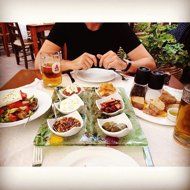 "Dishes of ""meze""! #SeenAtAlana #Rethymno Photo credits: @claudtr"