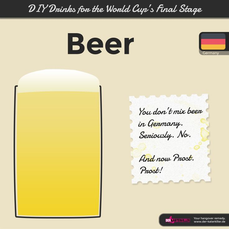 You don't mess with Germany. Football and beer are promising success with simplicity.