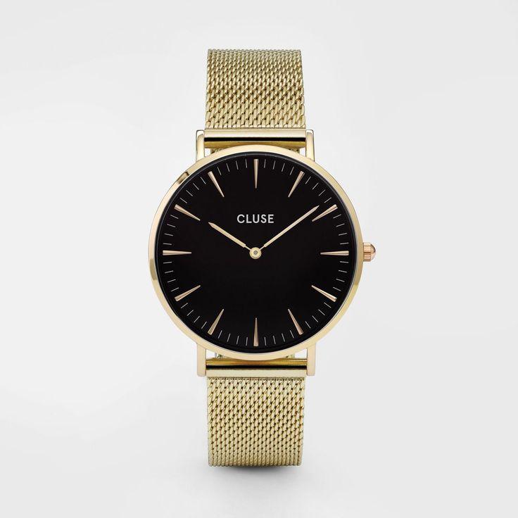 La Bohème Mesh Gold/Black CL18110