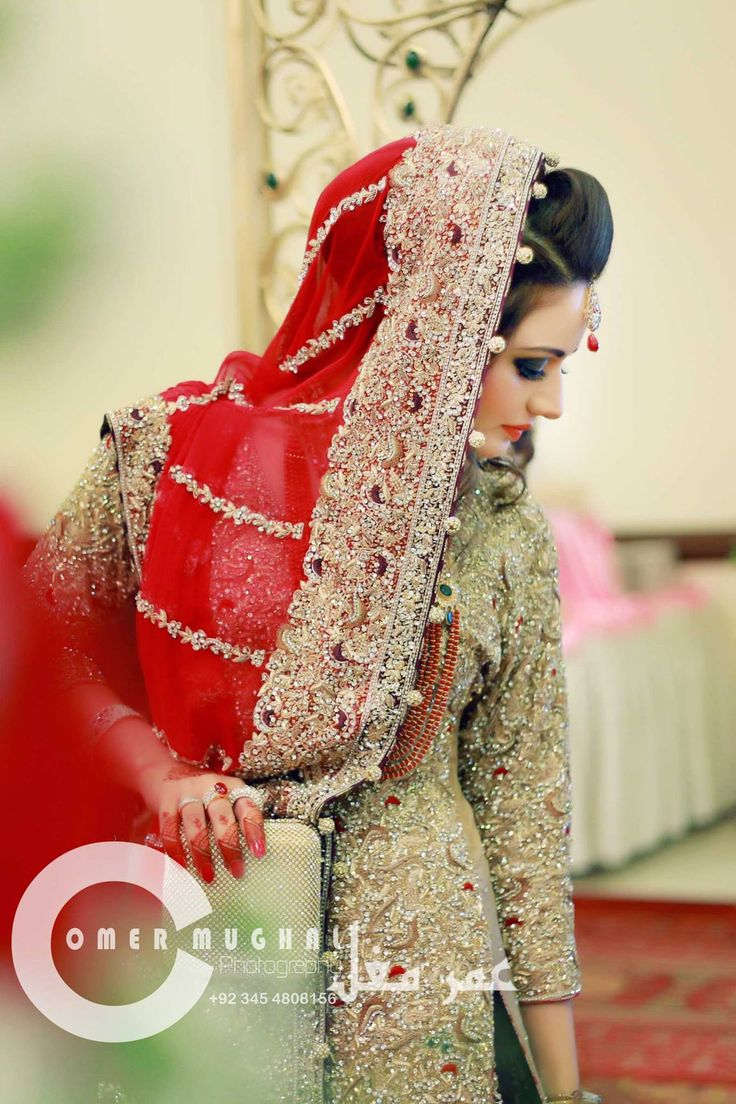 Pakistani Wedding Dresses Bridal Couture Photoshoot Red Indian Outfits Gorgeous Dress