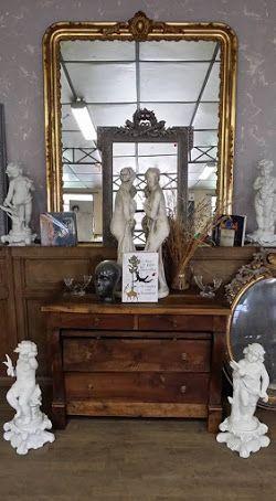 Ganné Beatrice meubles antiques Miroirs relooking meubles ganne beatrice / Design