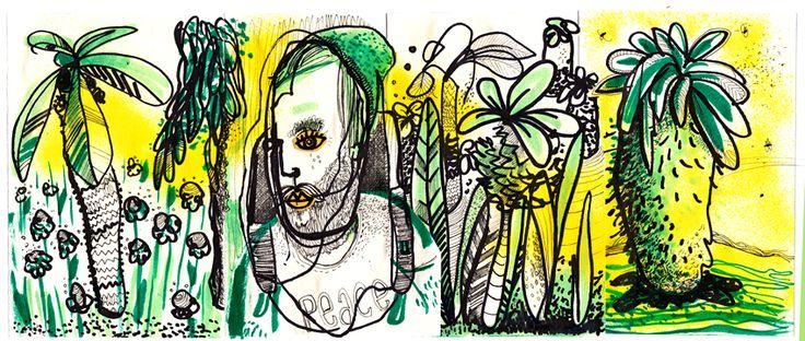 Sketchbook Jungle