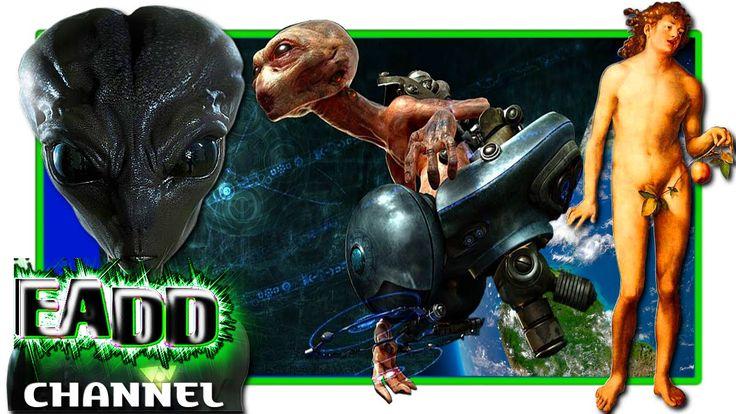 Los GENES ALIENIGENAS de ADAN descubrimiento sobre el origen extraterres...