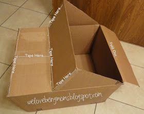 We Love Being Moms!: Cardboard Mater Tutorial