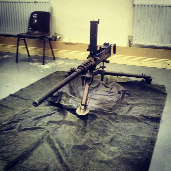 50 calibre Irish Army Gun shooting