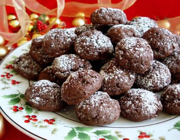 Ww Chocolate Fudge Cookie Bites from Food.com:   These have been created for the Weight Watchers Plan but they do not contain any wierd ingredients so they can be enjoyed by all! If you are following the plan, One point per cookie.