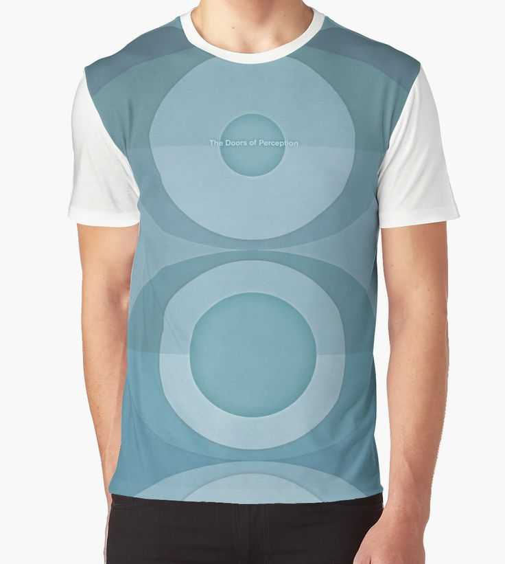 """""""The Doors of Perception - Aldous Huxley"""" Graphic T-Shirts by RedHillPrints   Redbubble"""