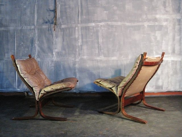 A pair of Siesta chairs by Ingmar Relling in Seating from August Interiors
