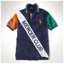 destockage ralph lauren! Polo Ralph Lauren particulière Classic-Fit 1710 Mercer Polo Club