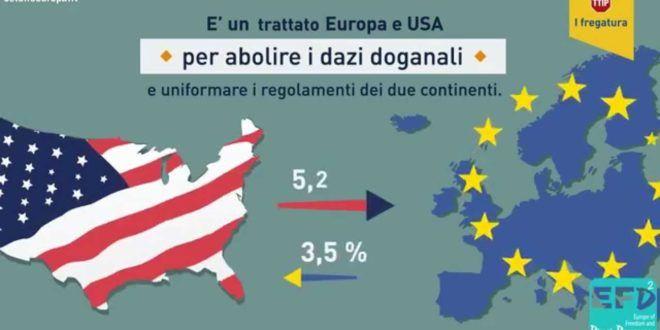 TTIP – Il trattato che ci rendera' schiavi delle multinazionali  Dietro la sigla TTIP (acronimo di Transatlantic Trade and Investment Partnership) si nasconde l'ultimo cavallo di Troia delle lobbies pro-globalizzazione