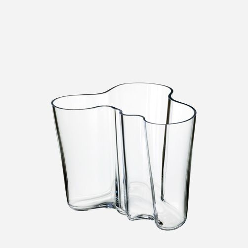 Iittala - Products - Decorating - Alvar Aalto Collection - Vase 160 mm clear