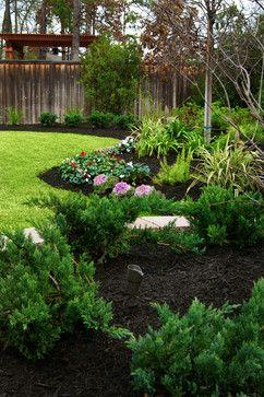new orleans style backyard garden traditional landscape houston stewart land designs