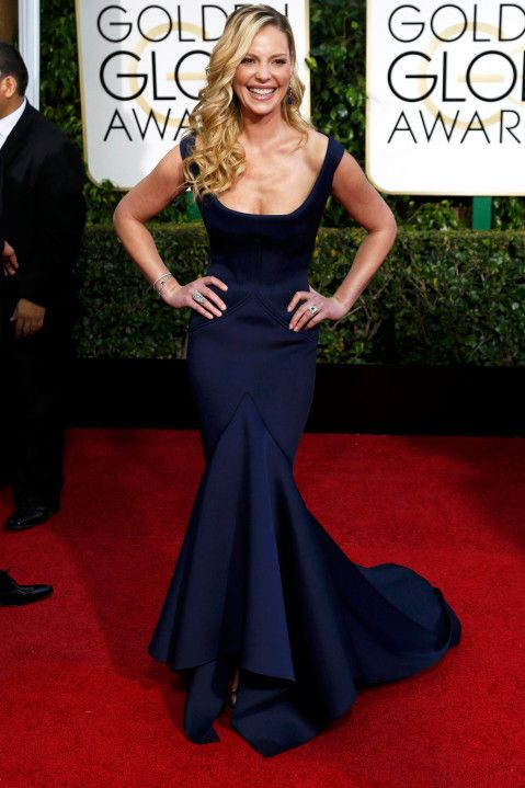 Actress Catherine Heigl arrives at the 72nd Golden Globe Awards in Beverly Hills