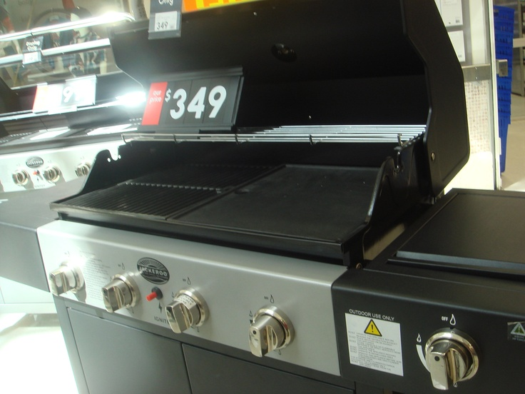 Melanie, Kmart.  jackeroo gas barbeque, $349.00