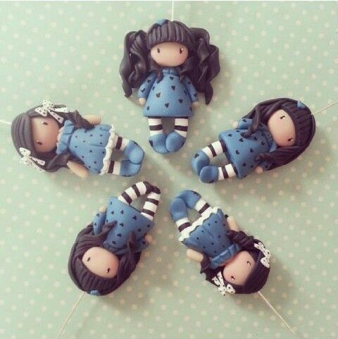 Gorjuss dolls polymer clay