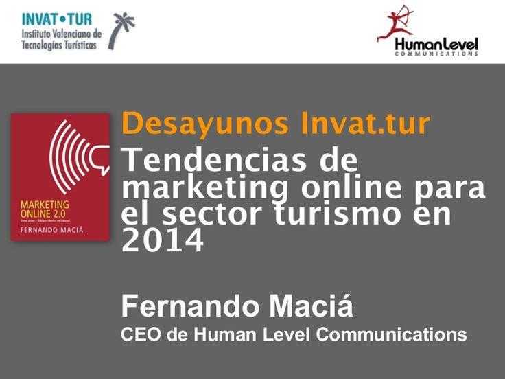 Tendencias en marketing digital para 2014 en el sector turístico