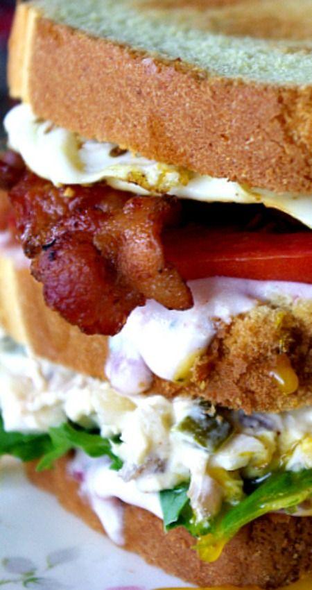 Turkey Salad Sandwich on Pinterest | Turkey Salad, Salad Sandwich ...